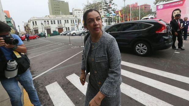 Marisol Espinoza dice que ministros maltrataban a congresistas