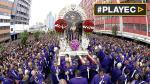 Miles de fieles acompañaron recorrido del Señor de los Milagros - Noticias de pedro ortiz