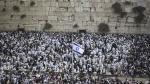 Polémica: Judíos se congregan ante Muro de los Lamentos - Noticias de atentado