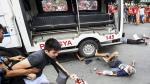 Filipinas: Policía arrolló a manifestantes frente a embajada - Noticias de filipinas