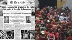 El Agustino: bomberos no sufrían tragedia similar desde 1931 - Noticias de manuel sanchez paredes