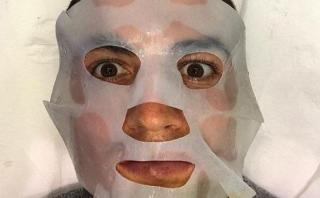 Cristiano Ronaldo muestra en Facebook su tratamiento de belleza