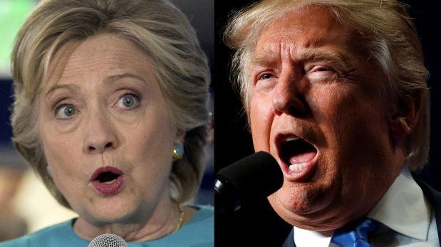 Hillary Clinton y Donald Trump se enfrentan por última vez antes de las elecciones del 8 de noviembre en Estados Unidos. (Foto: AFP/REUTERS)