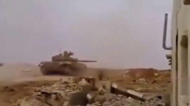 YouTube: tanque T-72 se salva de impacto de dos misiles [VIDEO]