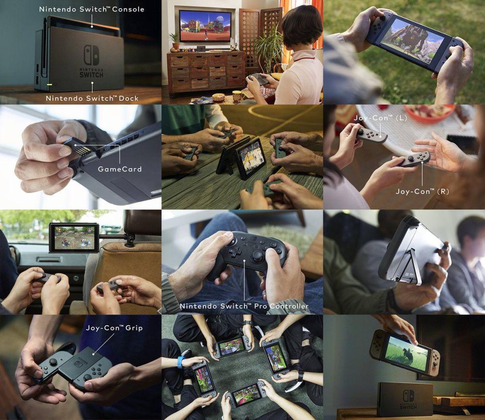 [Foto] Switch, la nueva consola híbrida de Nintendo [VIDEO]