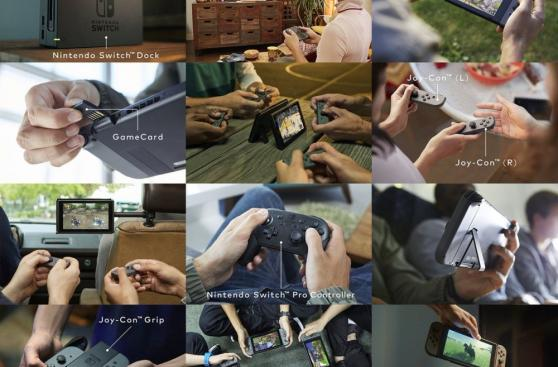Nintendo Switch, la nueva consola semiportátil de Nintendo