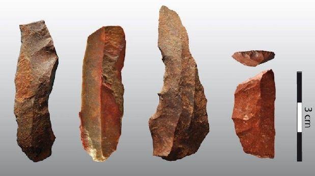 Hace 65.000 años humanos usaban calor para hacer herramientas