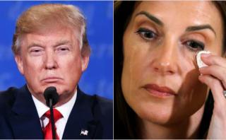 Profesora de yoga acusa a Trump de tocamientos indebidos