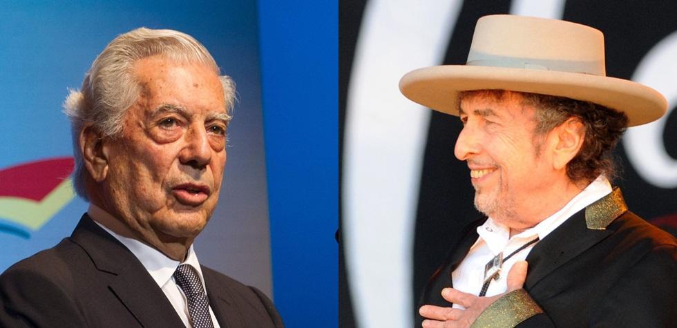 Vargas Llosa cuestiona distinción a Bob Dylan
