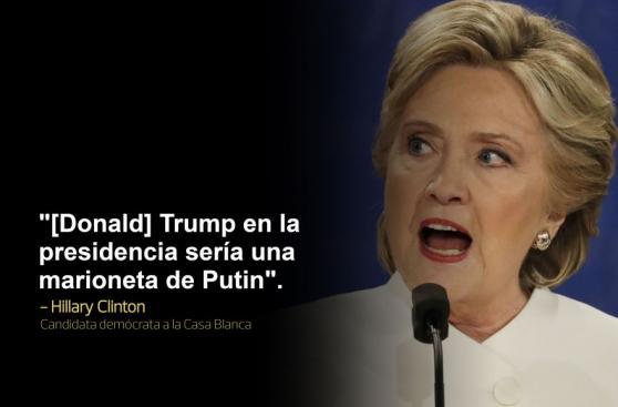 Clinton - Trump: Los dardos que se lanzaron en los tres debates