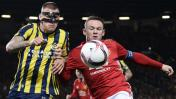 Manchester United goleó de local a Fenerbahce por Europa League