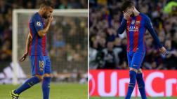 Piqué y Alba: ¿Cuánto tiempo estarán de baja en el Barcelona?
