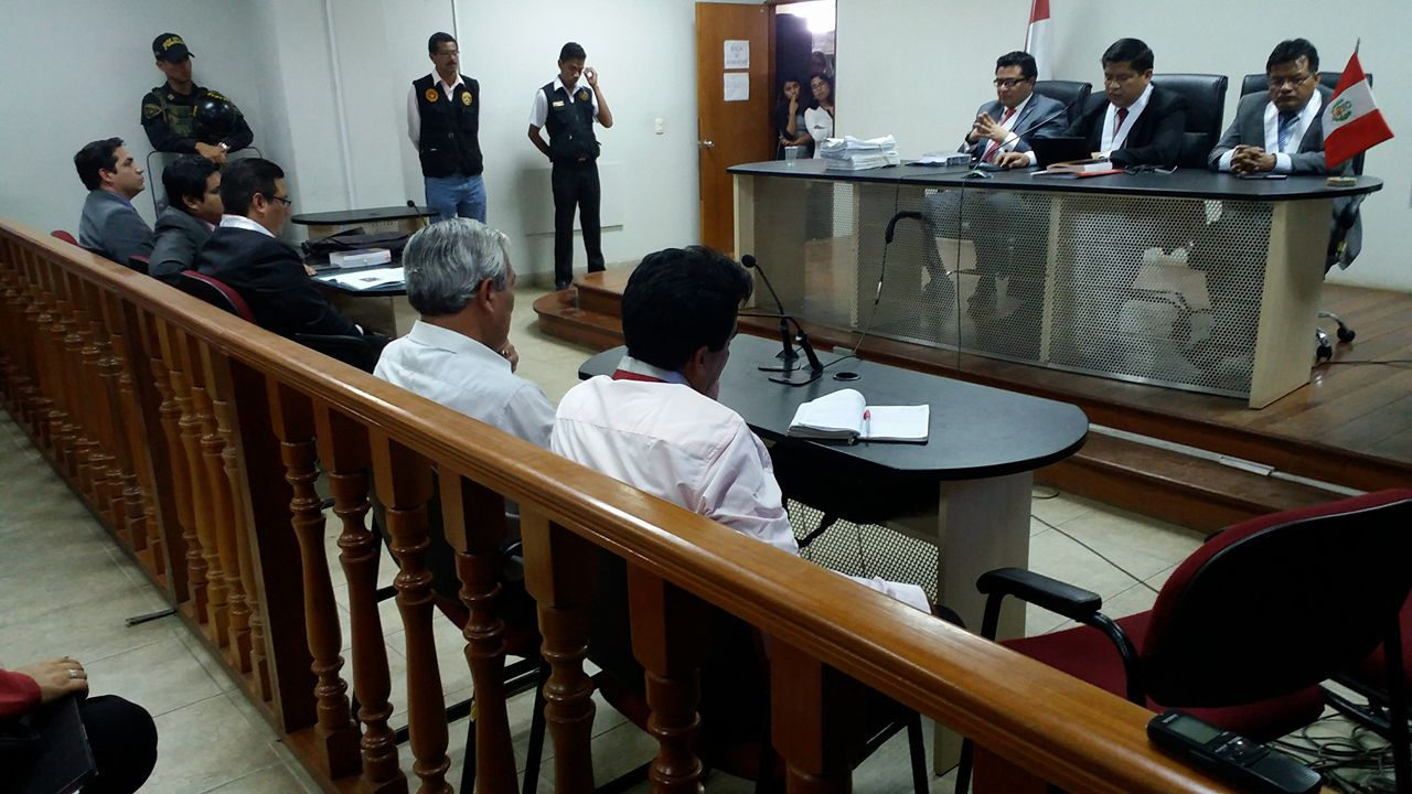 Esta es la tercera vez que Elidio Espinoza es absuelto por el mismo caso. (Foto: Johnny Aurazo / El Comercio)
