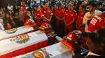 La semana en fotos: Bomberos, Las Bambas, Castañeda y OAS - Noticias de juan carlos tomas amendradiz