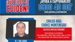 Incorporan a 61 prófugos a lista de delincuentes más buscados - Noticias de dante piaggio
