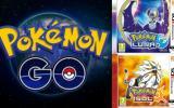 Pokémon Go podría conectarse a Pokémon Sol y Luna