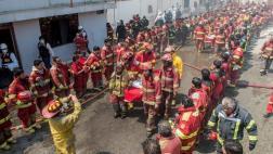 Promueven marcha para reconocer labor de los bomberos