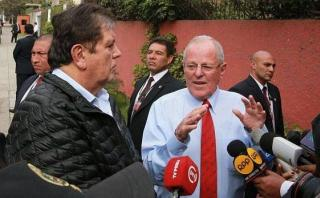 Presidente Kuczynski se reúne hoy con ex mandatario Alan García