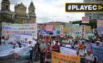 Guatemala: Miles marcharon para rechazar la corrupción [VIDEO]