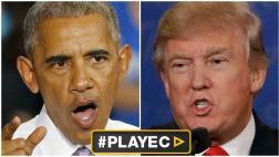 """Obama: """"Posición de Trump de no reconocer derrota es peligrosa"""""""