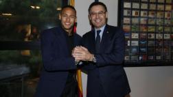 Neymar renovó contrato con el Barcelona hasta el 2021