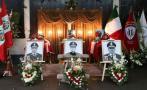 Cuerpos de los tres bomberos fallecidos serán enterrados hoy