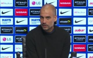 Guardiola sorprendió a periodistas con respuesta de 7 minutos
