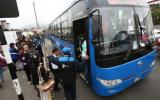 Buses de corredor azul ahora llegan hasta Caja de Agua en SJL