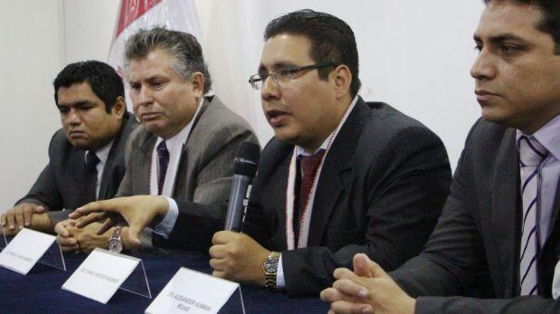 El grupo de fiscales que acusó a Espinoza Quispe y a siete policías en actividad adelantó que apelará el fallo emitido ayer.  (Foto: Johnny Aurazo / El Comercio)