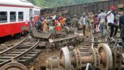 Camerún: Descarrilamiento de tren deja más de 50 muertos