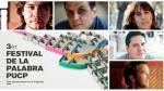 Festival de la Palabra PUCP: siga aquí las mesas de hoy - Noticias de alberto valenzuela