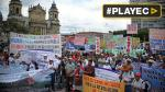 Guatemala: Miles marcharon para rechazar la corrupción [VIDEO] - Noticias de juan carlos molina