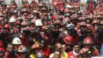Empresa plantea mecanismo para dar seguro a bomberos - Noticias de cuantos habitantes tiene la ciudad de arequipa en la actualidad