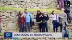 Demi Moore recorrió así la ciudadela inca de Machu Picchu - Noticias de bruce willis