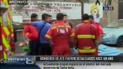 Ate: alcalde desalojó a bomberos de local y no construyó nada