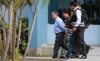 Francisco Boza permanece en el Ministerio Público