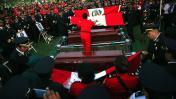 El último adiós a los bomberos que murieron en incendio