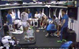 La charla de Cristiano antes que el Madrid gane la Undécima