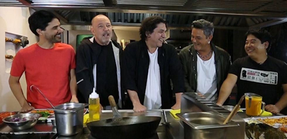 Blades, Sanz y cocineros peruanos unieron talento