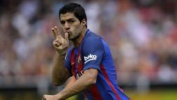 Barcelona: el violento disparo de Suárez para 2-2 ante Valencia