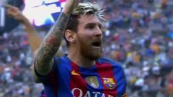 Messi: el botellazo de hinchas de Valencia que enojó a crack