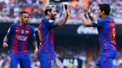 Barcelona ganó 3-2 al Valencia por la Liga Española