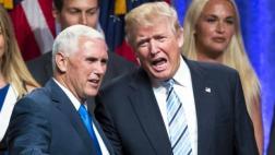 El rol principal de Pence: Aclarar los comentarios de Trump