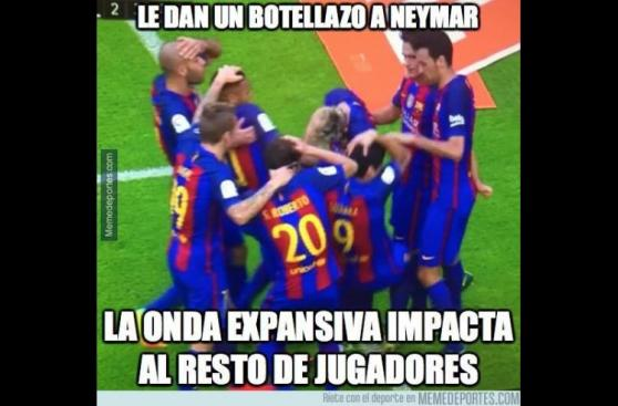 Los memes que el triunfo del Barcelona dejó en Facebook