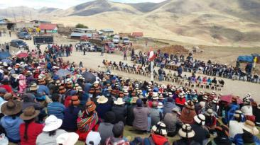 Las Bambas: Gobierno planteó 45 días de tregua a comuneros