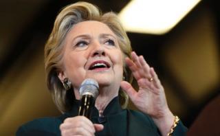 """Clinton: """"Ya ni pienso responder más"""" a Donald Trump"""