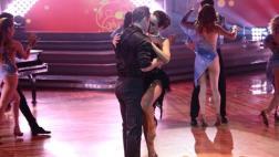 """""""El gran show"""": Rosángela y Lucas se lucen en apasionado tango"""