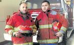 Bomberos que salvaron de morir piden rescate de su institución