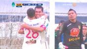 ¿Fue penal sobre Rengifo? Delantero de la 'U' marcó así el 1-0