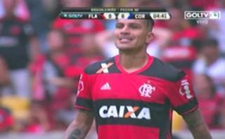 Paolo Guerrero: mira el gol que le anularon contra Corinthians